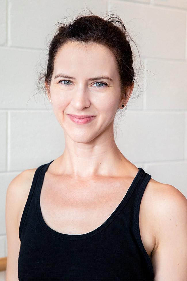 Caroline Websiter Pilates and Gyrotonic instructor in Atlanta GA